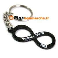 Porte clefs personnalises em metal