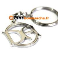 Porte clefs personnalises metallique