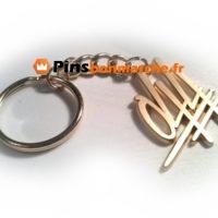 Porte clefs personnalises or