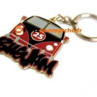 Porte clefs personnalises voiture