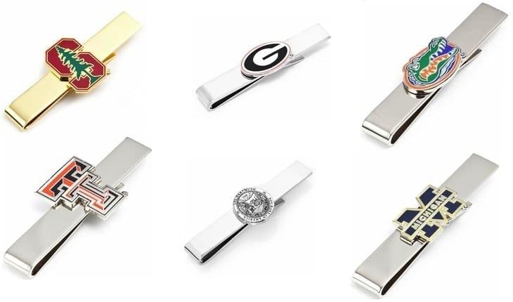 Les pinces à cravates personnalisées