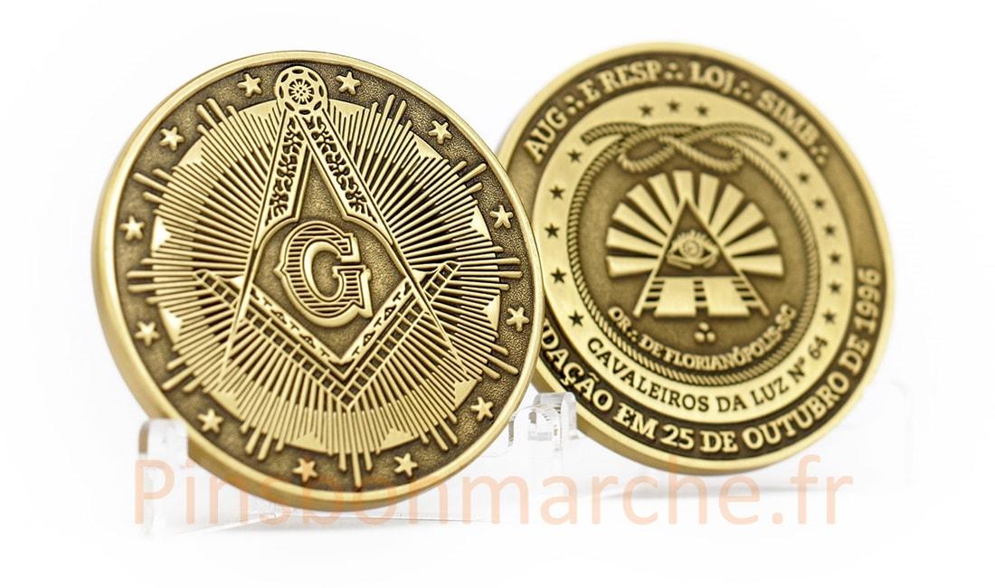 Les pièces de monnaie personnalisées